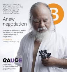 2015, Anew Negotiation, Gauge Gallery, Australia