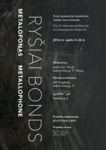 2016, METALLOphone: Bonds, Lithuania