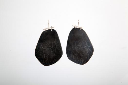 earrings, 2014, silver 925